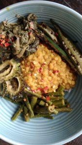 trini veggie bowl catering